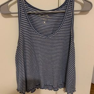 Striped Hollister Tank Top